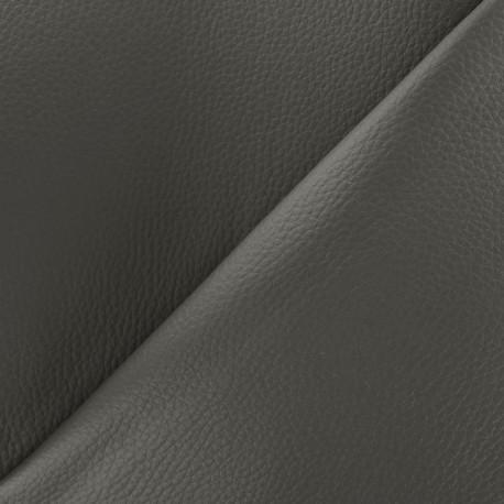 Imitation leather Karia on foam - anthracite x 10cm