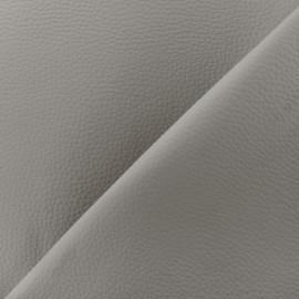 Imitation leather Karia on foam - grey x 10cm