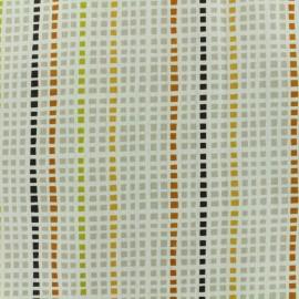 ♥ Coupon 10 cm X 160 cm ♥ Tissu enduit coton Ibarra - écru
