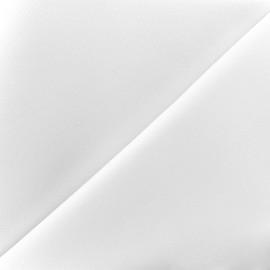 Tissu Néoprène Scuba uni - blanc x 10cm