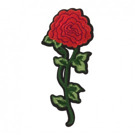 Thermocollant Old School Flower - rose