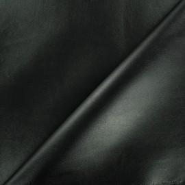 Simili cuir souple uni - noir x 10cm