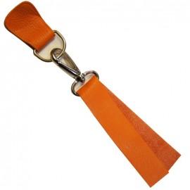 Patte Mousqueton cuir Naranja