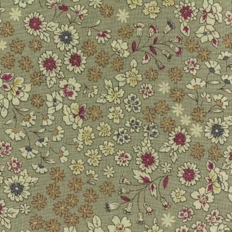 Les Fleuris Froufrou cotton veil - grey x10cm