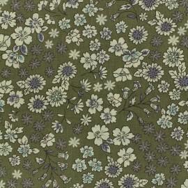 Les Fleuris Froufrou cotton veil - khaki x10cm
