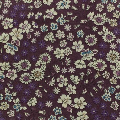 Les Fleuris Froufrou cotton veil - purple x10cm