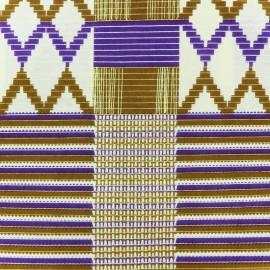 Tissu Wax - Swati x 10cm