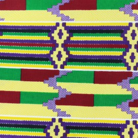 Tissu Wax - Soo x 10cm