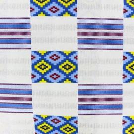 Tissu Wax - Slavey x 10cm