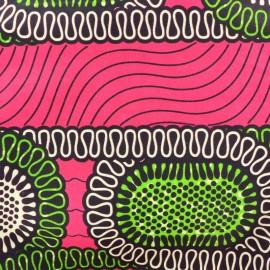 Tissu Wax - Ibo x 10cm