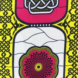 Tissu Wax - Oromo x 10cm