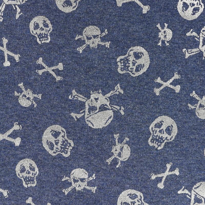 Sweat Skeletons X 10cm Grisjean Tissu Scary Léger KJTlu13Fc