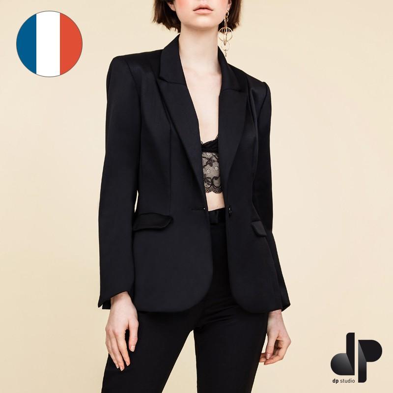 Modele veste tailleur pour femme