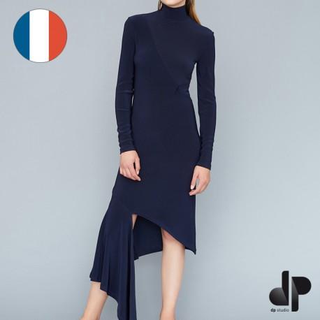 Sewing pattern DP Studio Asymmetric dress - Le 003