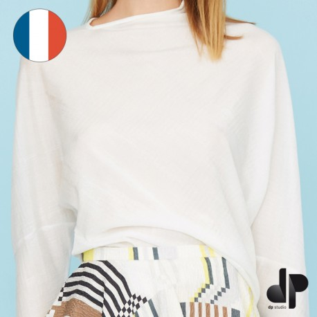 Sewing pattern DP Studio Asymmetric sweater - Le 002