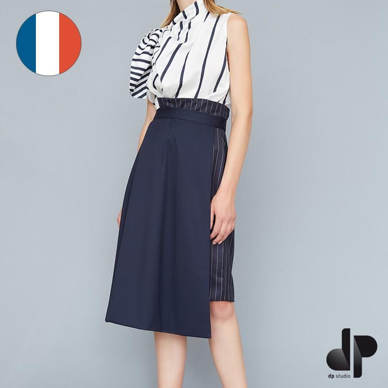 Patron dp studio jupe asym trique vas e et droite taille - Patron couture jupe droite ...