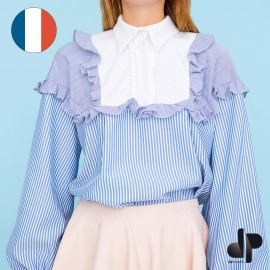 Sewing pattern DP Studio Frilled shirt - Le 601