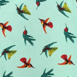 Tissu satin Colibri by Penelope® - vert x 21cm