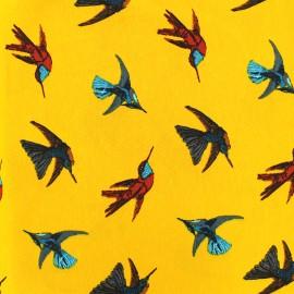 Tissu satin Colibri by Penelope® - ocre x 21cm
