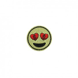 Thermocollant Emoji party - love