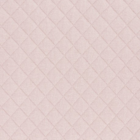 Tissu jersey matelassé France duval - nude x 10cm