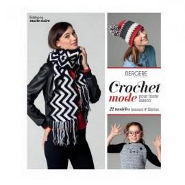 """Livre """"Crochet mode pour toute saison"""""""