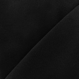Coat wool fabric Harold - black x 10cm