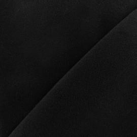 Tissu drap manteau Harold - noir x 10cm