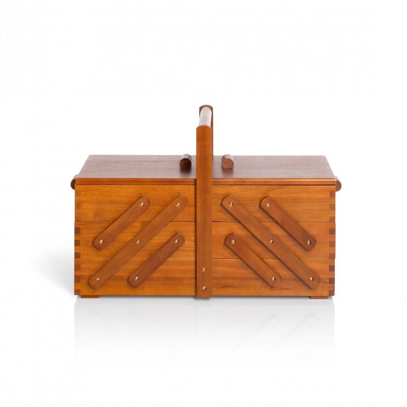 travailleuse en bois fonc prym l ma petite mercerie. Black Bedroom Furniture Sets. Home Design Ideas