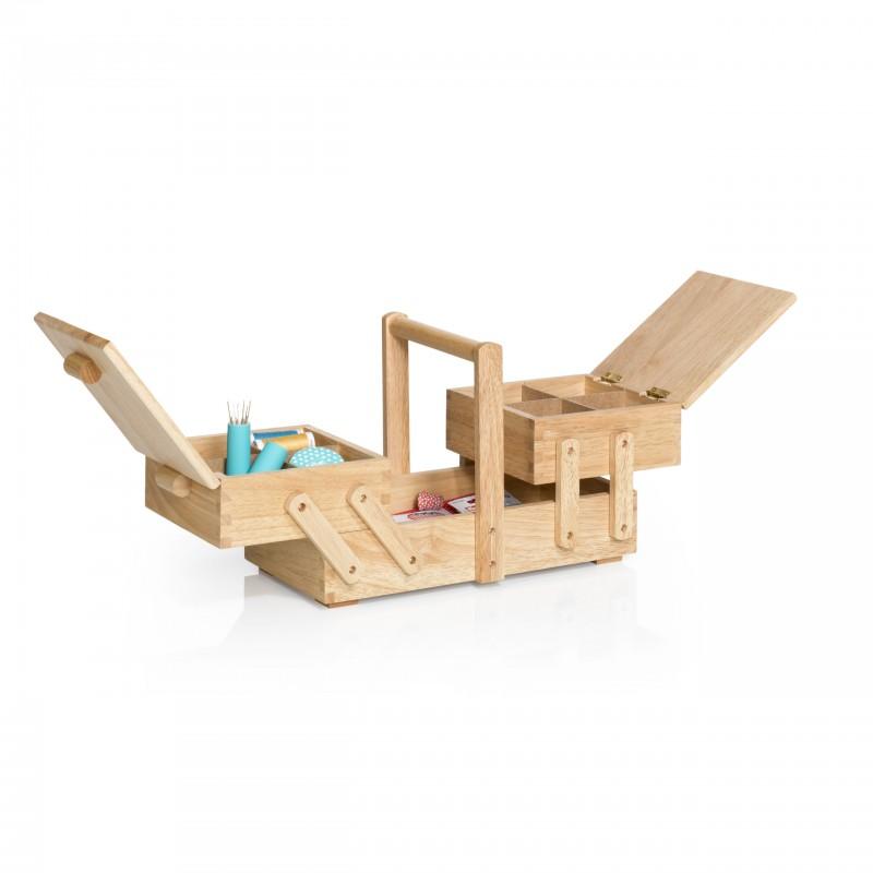 travailleuse en bois clair prym s ma petite mercerie. Black Bedroom Furniture Sets. Home Design Ideas