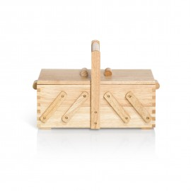 Sewing box in light wood - S