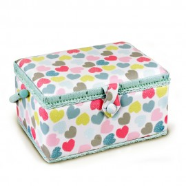 Sewing box Love size M - sky