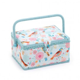 Sewing box Birdsong size M - sky