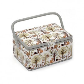Sewing box Fox size M - taupe