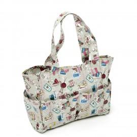 PVC craft bag - grege