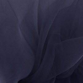 Organza Fabric - night blue x 50cm