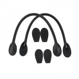 Anses de sac polyurethane - noir