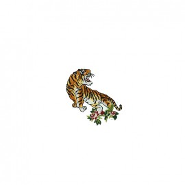 Nippon Glamour iron on patch - tiger B