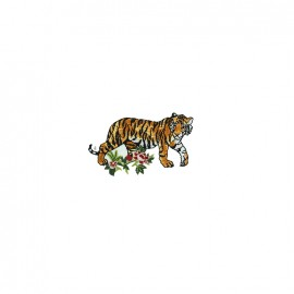 Nippon Glamour iron on patch - tiger A