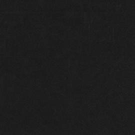 Fourrure mouton réversible aspect cuir vieilli V2 - noir x 10cm
