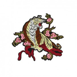 Nippon Glamour iron on patch - tiger C