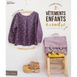 """Book """"Vêtements enfants à coudre"""""""