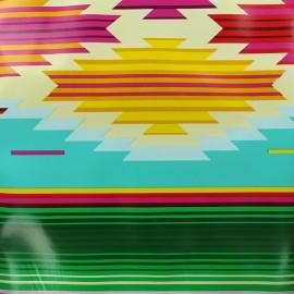 Tissu toile cirée - Sarape x 50cm