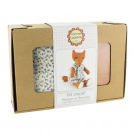 Creative kit wool felt - Philippa the fox