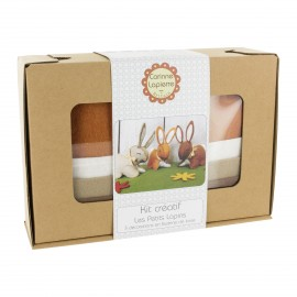 Creative kit wool felt - The little rabbits