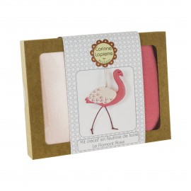 Creative kit wool felt -  The Flamingo