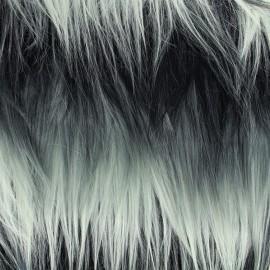 Fourrure haute qualité Armando - gris x 10cm