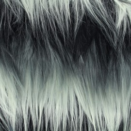 High quality fur Armando - grey x 10cm