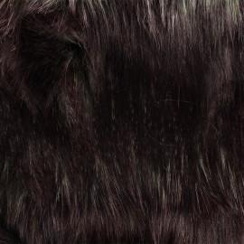 Fourrure haute qualité Duccio - aubergine x 10cm