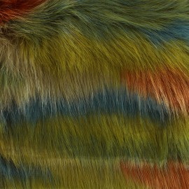 High quality fur Fosca - multi x 10cm